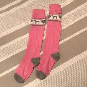 Victoria's Secret PINK high socks